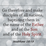 Who is the One God in Matthew 28:19?